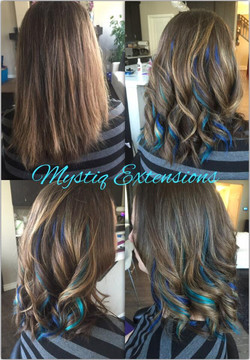 mystiqhairextensions_teal fun