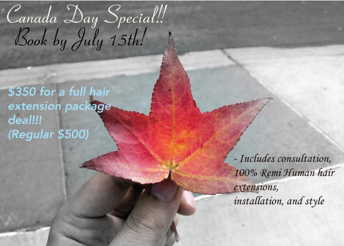 Did you check out the Canada Day Sale??