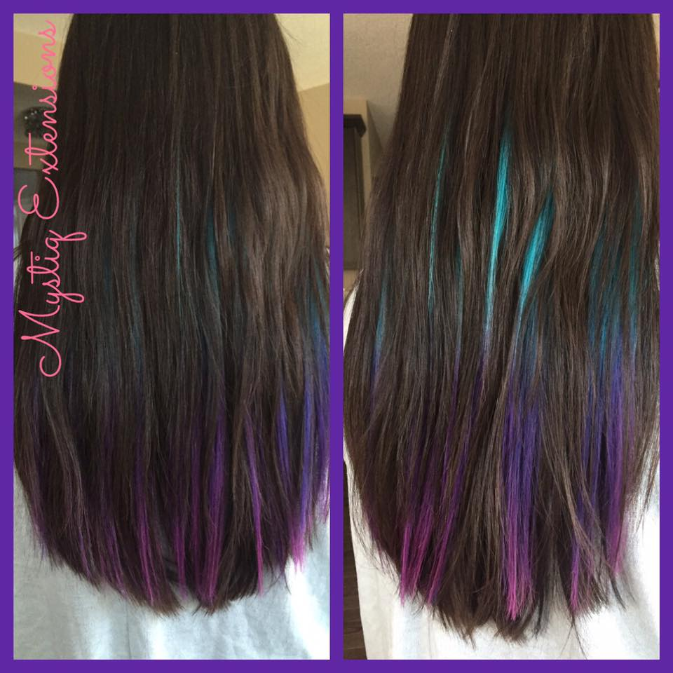 mystiqhairextensions_teal mermaid