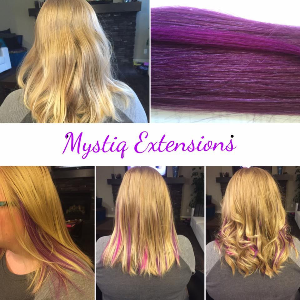 mystiq extensions_airdrie hair extensions_hair extensions calgary (purple highlights)