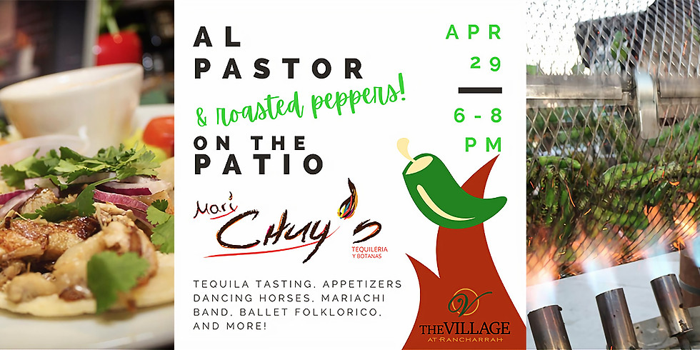 Chuy's Al Pastor & Peppers on the Patio