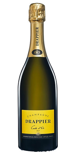 Bouteille champagne drappier carte d'or