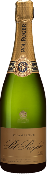Champagne Pol roger - Demi sec