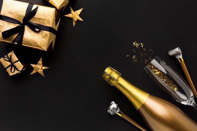 champagne anniversaire cadeaux