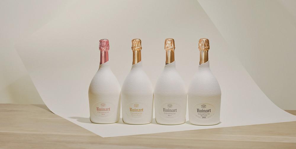 Emballage écologique Champagne Ruinart