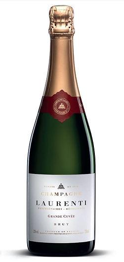 Bouteille-Champagne Laurenti grande cuvee brut