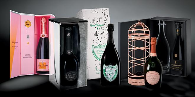 Coffrets de Champagne splendides