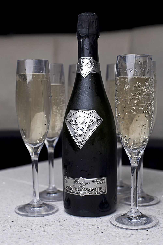 Champagne le Gout de Diamants : le champagne le plus cher au monde