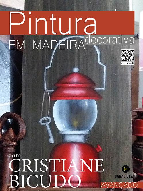 EAD CRAFT -  #3 - CRISTIANE BICUDO - PINTURA DECORATIVA EM MADEIRA
