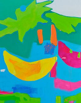 Banana Pool Toy