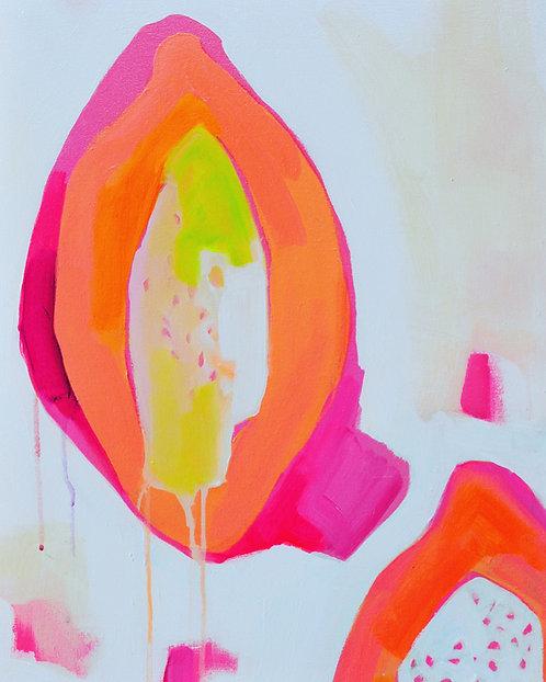 Original Painting | Papaya Mama