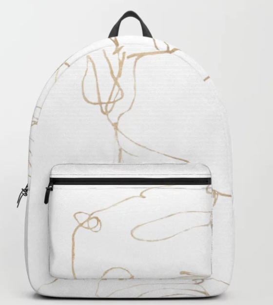 Carrot Top (gold) Backpack