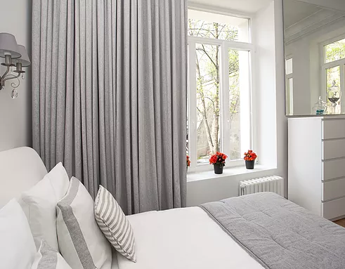Reduce you air conditioning costs with Blackout Curtains by SkiptonWall in Dubai