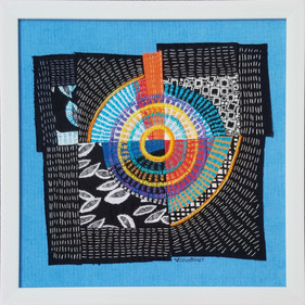 """Running in Circles #8           12"""" x 12""""         Not for Sale"""