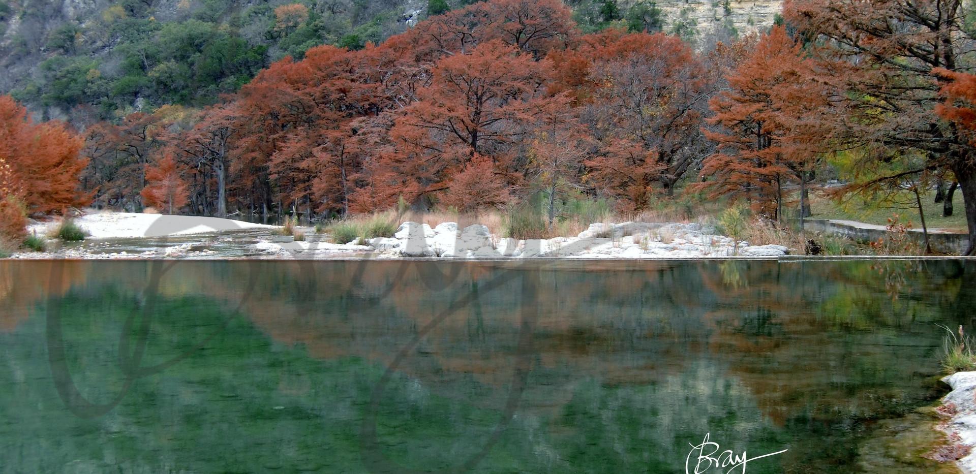Fall Foliage at Garner State Park