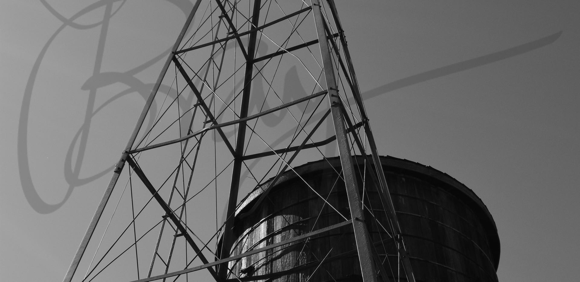 Windmill and Tank at Herff Farm