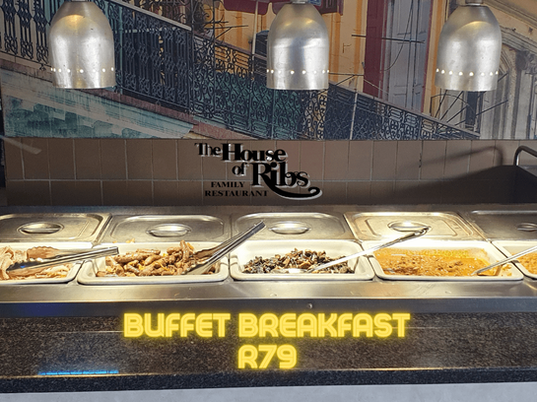 House of Ribs Buffet Breakfast