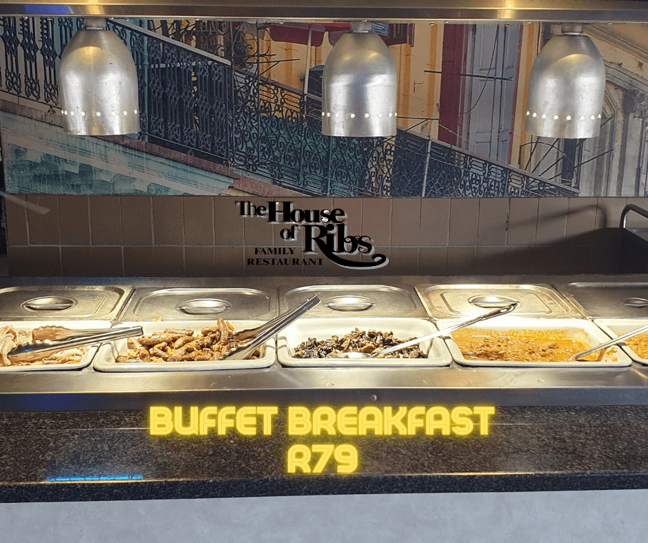 House of Ribs Buffet Breakfast