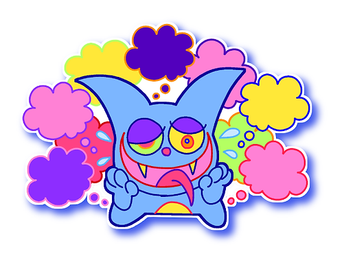 Happy Thoughts Sticker