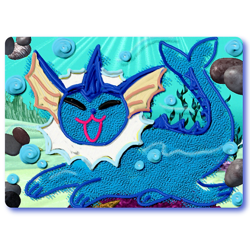 Vaporeon Sticker
