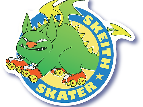 Skeith Skater Sticker