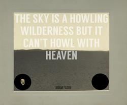 THE SKY...