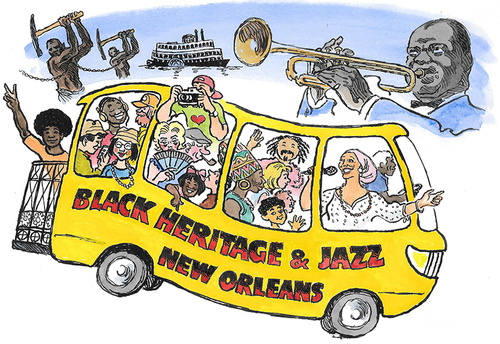 Black Heritage & Jazz Tour Bus
