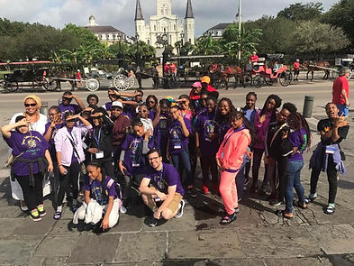 Black Heritage & Jazz Tours educational school group tours. African-American Heritage tour