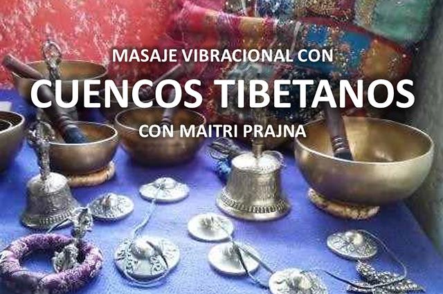 Masaje vibracional con cuencos tibetanos para liberar las depresiones y la tension en casa Prajna