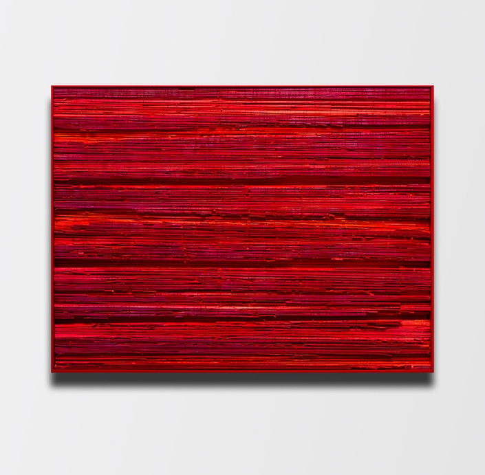 Deep red lines.(2018)