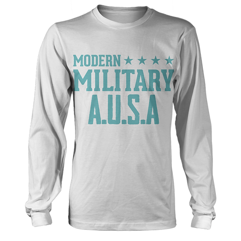 Modern Military - Cloudy Blue