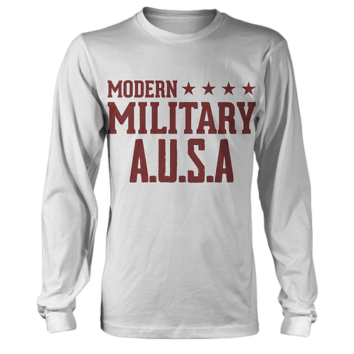 Modern Military - Rust Red