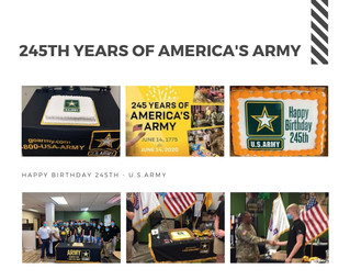 245TH YEARS OF AMERICA'S ARMY