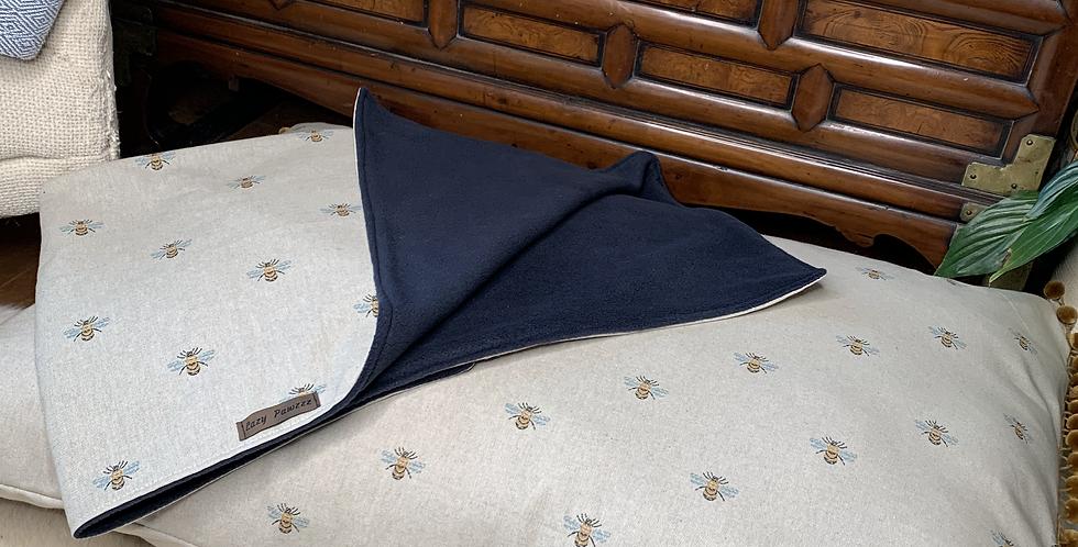 Zen Bee fleece blanket