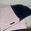 Thumbnail: Candy Cane fleece blanket - Pink