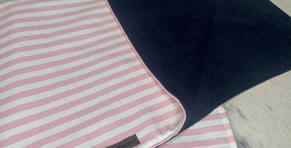 Candy Cane fleece blanket - Pink