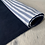 Thumbnail: CandyCane fleece blanket - Chambray