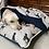Thumbnail: Labrador Love fleece blanket
