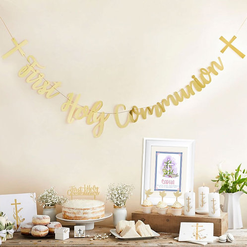 First Holy Communion personalised gift idea
