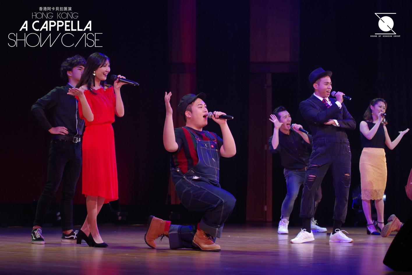 《A cappella Showcase》Y.YOU演出