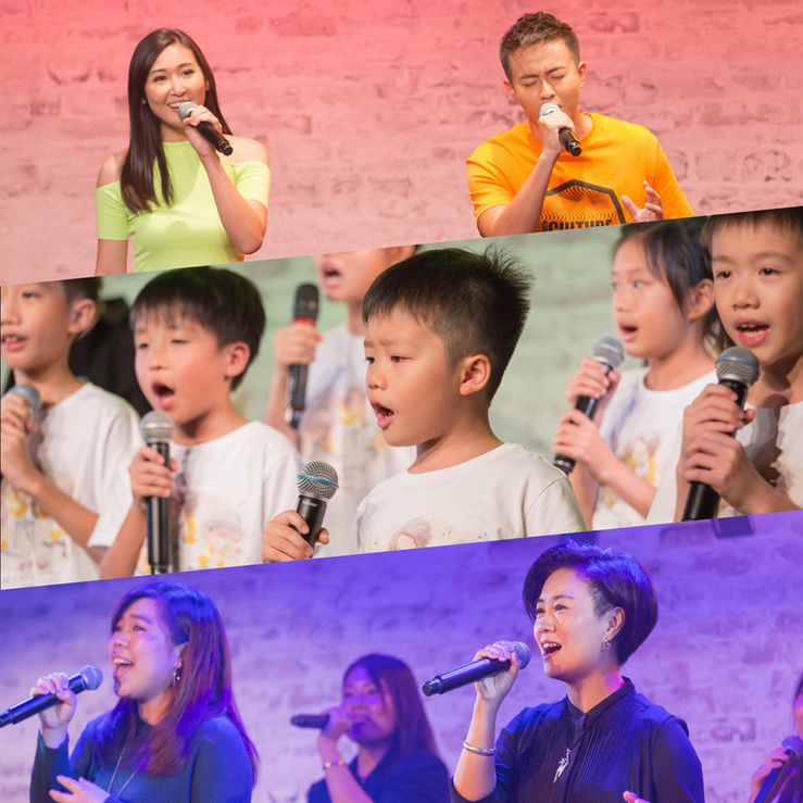 《人聲熱唱》 a cappella 演出