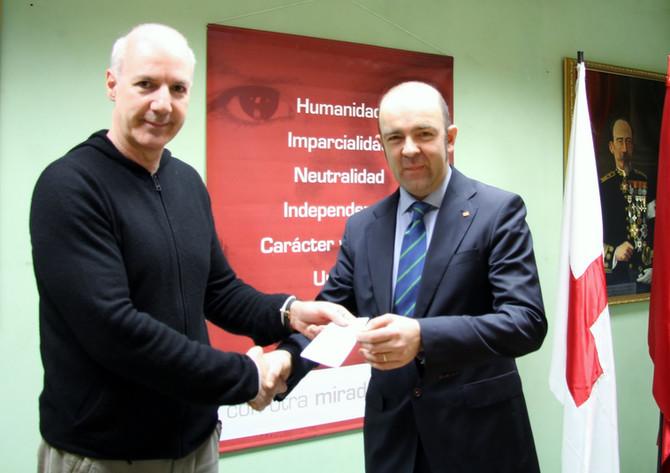 Colaboración con Cruz Roja Navarra
