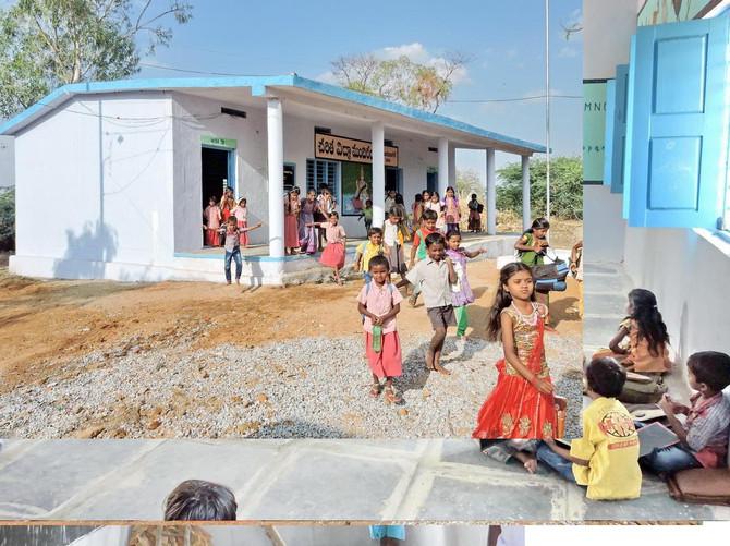 Inauguración escuela de la fundación Orbaiceta Ochotorena junto con FVF en MORUBAGAL