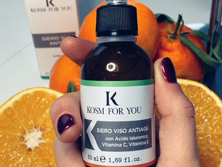 Siero alla vitamina C e acido ialuronico KosmForYou