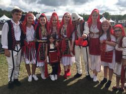 albania Kosova dancers