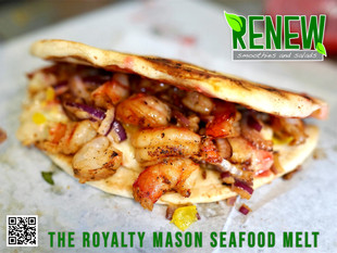 THE ROYALTY MASON SEAFOOD MELT