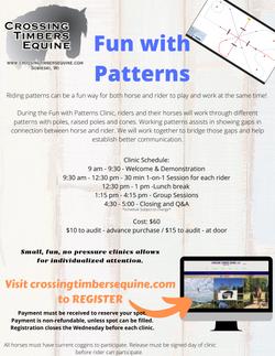 Patterns Printable Flyer