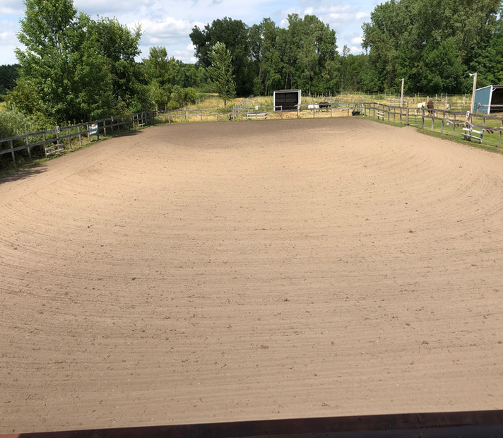 View of the Outdoor Arena from the Judge's Booth