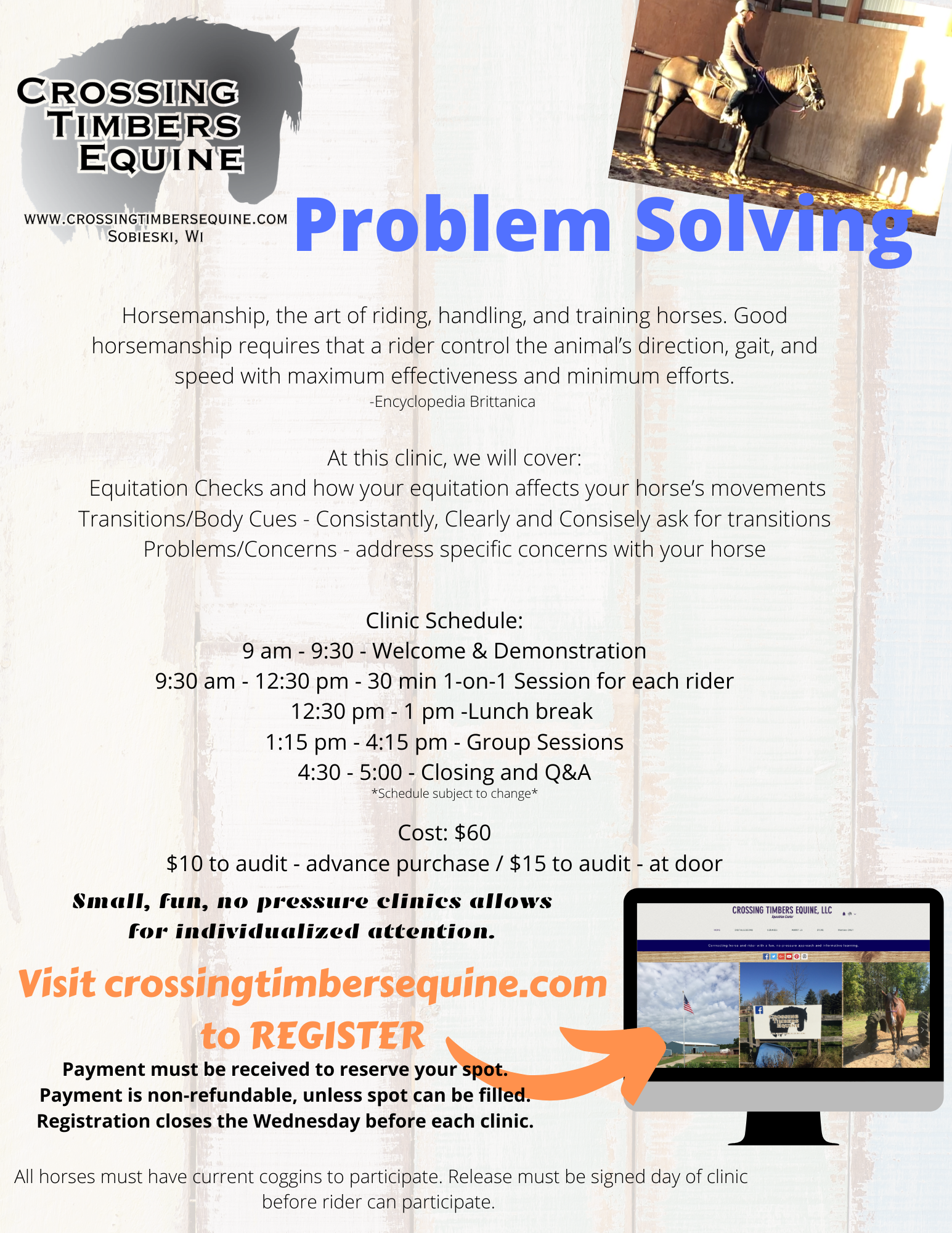 Problem Solving Printable Flyer