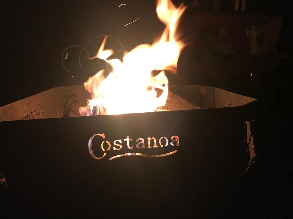 Coastanoa Campfire on New Years 2019